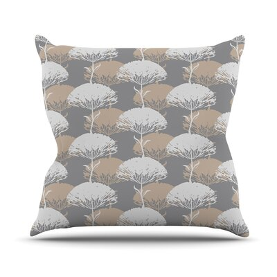 Charming Tree Outdoor Throw Pillow