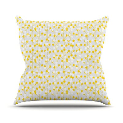 Lemon Drop Outdoor Throw Pillow