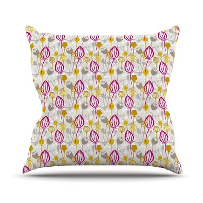 Mulberry Outdoor Throw Pillow