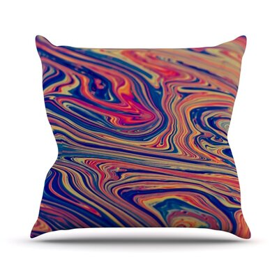 Soap and Water Outdoor Throw Pillow