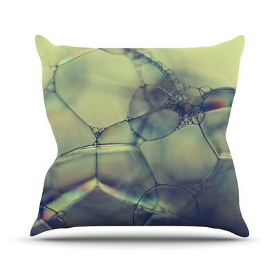 Bubblicious Outdoor Throw Pillow