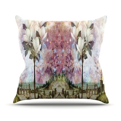 The Magnolia Trees Outdoor Throw Pillow