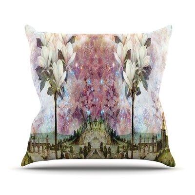 The Magnolia Trees Outdoor Throw Pillow