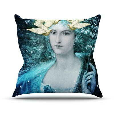 Adorned Outdoor Throw Pillow