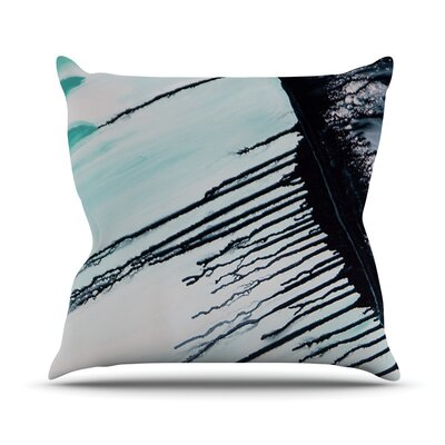 Extractions Outdoor Throw Pillow