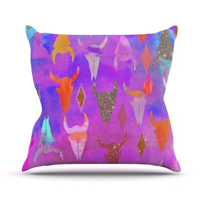 Rodeo Outdoor Throw Pillow