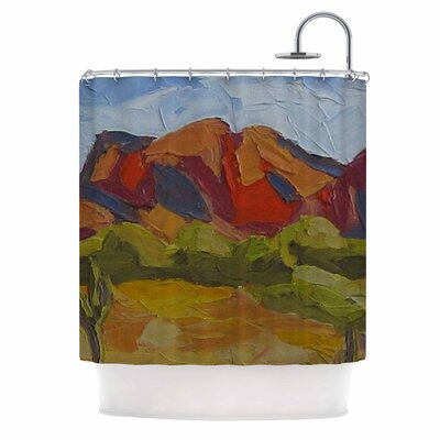 Arizona by Jeff Ferst Desert Mountain Shower Curtain