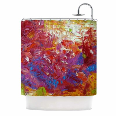 Sonoran Fantasy by Jeff Ferst Abstract Shower Curtain