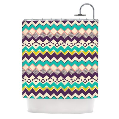 Ethnic Color by Louise Machado Shower Curtain