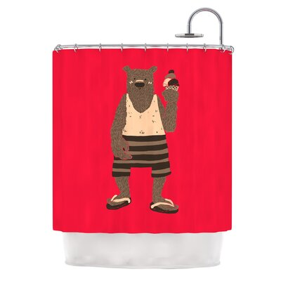 Vacation by Tobe Fonseca Shower Curtain