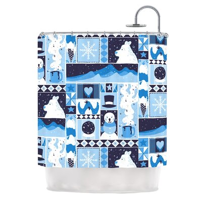 Winter by Tobe Fonseca Seasonal Shower Curtain