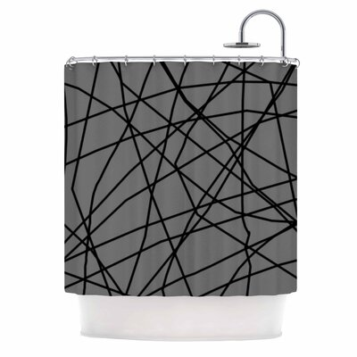 Paucina v2 by Trebam Shower Curtain
