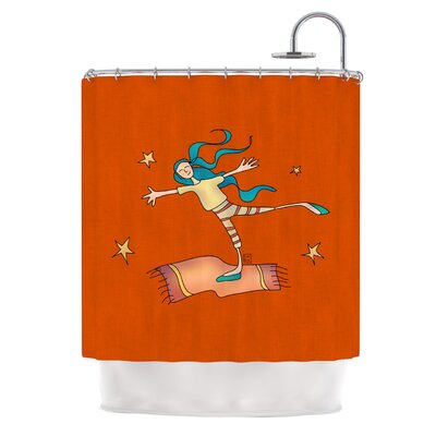 Being Free by Carina Povarchik Shower Curtain