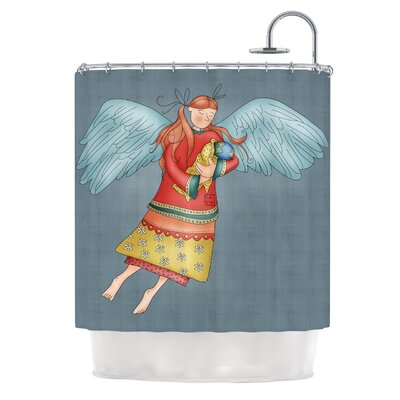 Guardian Angel by Carina Povarchik Shower Curtain
