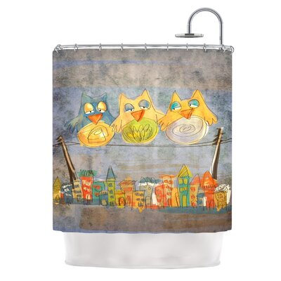Lechuzas by Carina Povarchik Shower Curtain