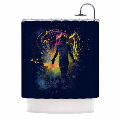 The Birds Master by Frederic Levy-Hadida Shower Curtain