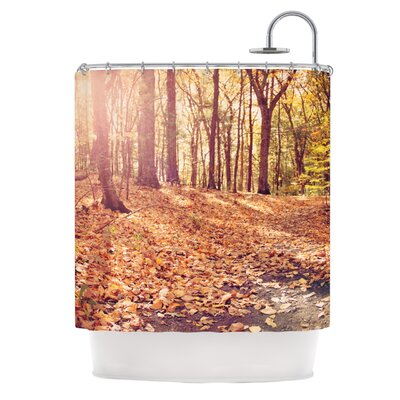 Autumn Hike by Jillian Audrey Shower Curtain