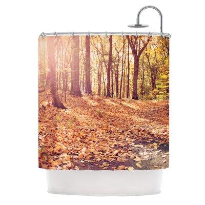 Autumn Hike by Jillian Audrey Shower Curtain