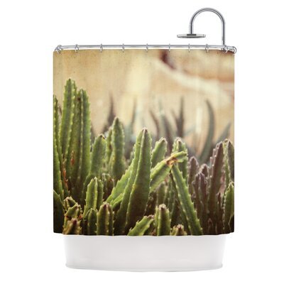 Grass Cactus by Jillian Audrey Shower Curtain