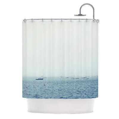 Harbor by Jillian Audrey Shower Curtain
