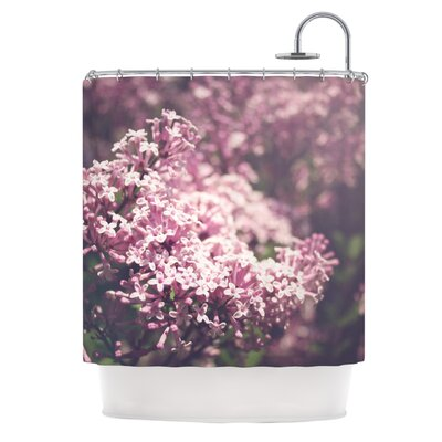 Lilacs by Jillian Audrey Floral Shower Curtain