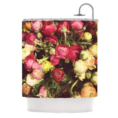 Ranunculus by Jillian Audrey Shower Curtain