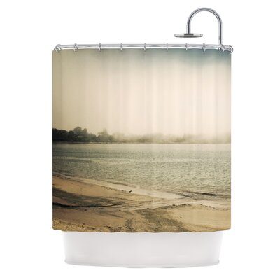 Stormy Coast by Jillian Audrey Coastal Shower Curtain