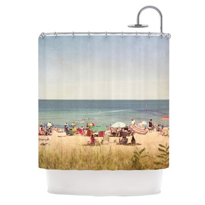 Summertime by Jillian Audrey Shower Curtain