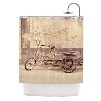 The Gray Bicycle by Jillian Audrey Photography Shower Curtain