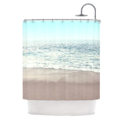The Sea by Monika Strigel Coastal Shower Curtain