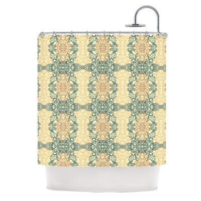 Fancy Damask Antique by Mydeas Shower Curtain