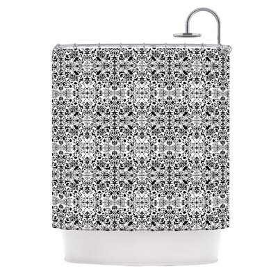 Fancy Damask by Mydeas Shower Curtain