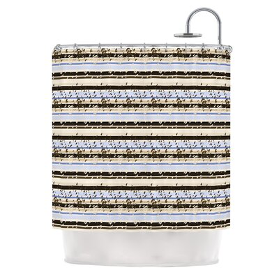 Nautical Breeze by Mydeas Shower Curtain