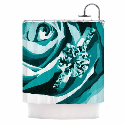 Happy Engagement Tiffany by NL Designs Shower Curtain