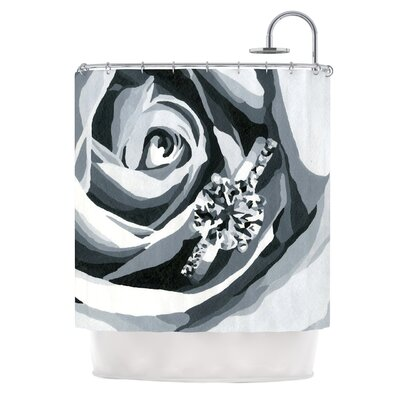 Happy Engagement by NL Designs Shower Curtain