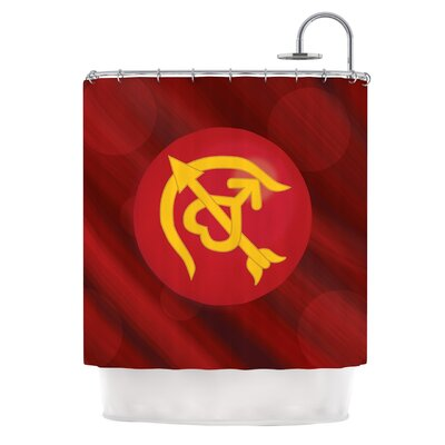 Mars by NL Designs Shower Curtain