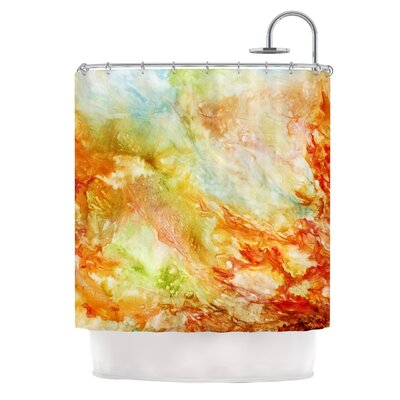 Autumn Breeze by Rosie Brown Shower Curtain