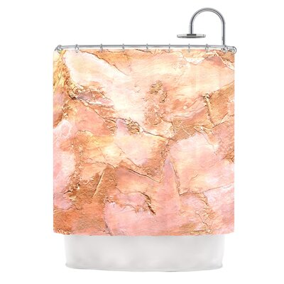 Bronze It by Rosie Brown Paint Shower Curtain