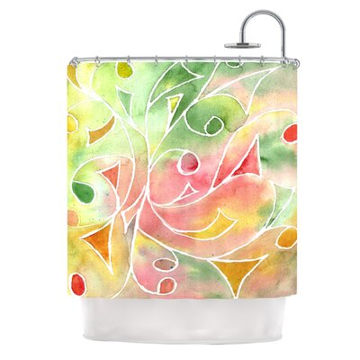 Gift Wrap by Rosie Brown Pastel Shower Curtain