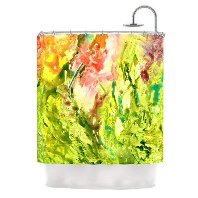 Thumb by Rosie Brown Paint Shower Curtain