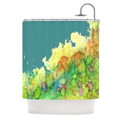 Sea Life II by Rosie Brown Shower Curtain