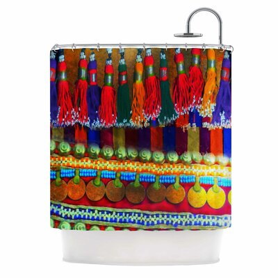 Boho Mania by S Seema Z Ethnic Shower Curtain
