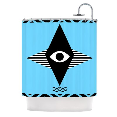Eye Graphic by Vasare Nar Shower Curtain