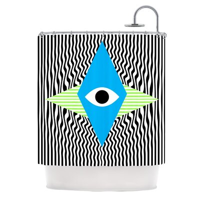 Eye Optical by Vasare Nar Shower Curtain