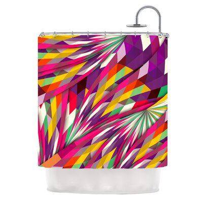 Sweet by Danny Ivan Geometric Shower Curtain