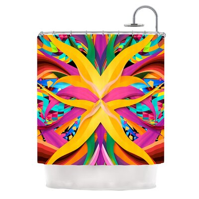 Tropical Fun by Danny Ivan Shower Curtain