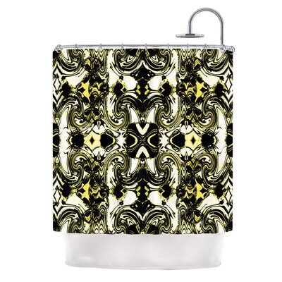 The Palace Walls II by Dawid Roc Shower Curtain
