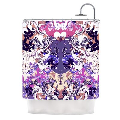 Barroque in Love by Fernanda Sternieri Shower Curtain