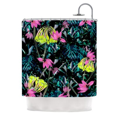 FS010 by Fernanda Sternieri Flowers Shower Curtain
