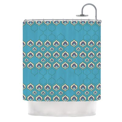 Happy Path by Fernanda Sternieri Shower Curtain